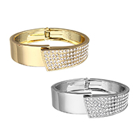 Rhinestone Zinc Alloy Bangle
