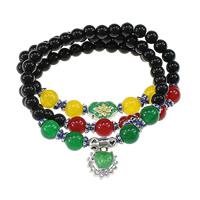 Glass Beads Multilayer Bracelets
