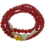Dyed Marble Beads Multilayer Bracelet