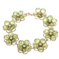 Rhinestone Brass Bracelets