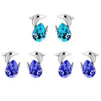 CRYSTALLIZED™ Elements Crystal Zinc Alloy Stud Earring